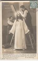 CPA    LE CHRIST DES TRIBUNAUX ANCIENNE CARTE   M.  DE LAMARZELLE ECRITE    1906 - Glaube, Religion, Kirche