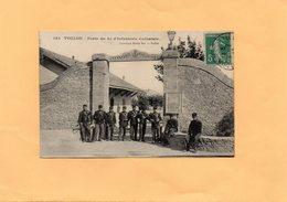 F0804 - TOULON - 83 - Porte Du 8e D'Infanterie Coloniale - Toulon