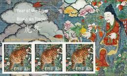 Ireland 2010 Year Of Tiger SS MNH - Chinese New Year