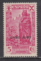 Cabo Juby Sueltos Beneficencia Edifil 1 * Mh - Cabo Juby