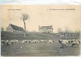 CPA 19 Corrèze Beaulieu Sur Dordogne Une Ferme Aux Environs - Other Municipalities