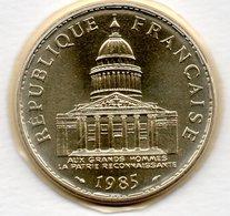 Panthéon  -  100 Francs 1985   -  état FDC  - Scellée - France