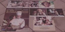 AFFICHE CINEMA FILM LES 1001 RECETTES DU CUISINIER AMOUREUX + 6 PHOTOS Pierre RICHARD 1997 TBE - Affiches & Posters