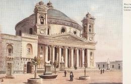 """""""Malta. Musta Church"""" Tuck Oilette Wide-wide-world Series PC # 7091 - Quinton, AR"""