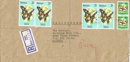 32236. Carta Certificada MERU (Kenya) 1992 To Nairobi - Kenia (1963-...)
