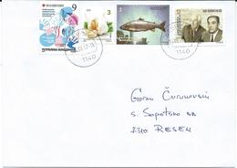 Macedonia 14.09.2017 FD Stamp Charity Red Cross Tuberculosis And Stamp Vegetables 2016 & 2009 Fishes & Musics - Macédoine