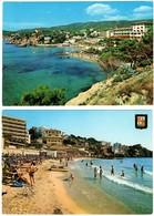 Mallorca Palma Playa De Cala Mayor 2 Postcards - Mallorca