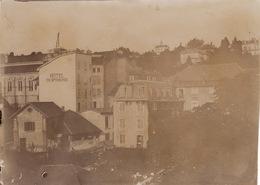 Photo Années 1900 AIX-LES-BAINS - Une Vue, Hôtel Dufrene (A207) - Aix Les Bains