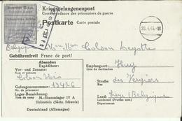 Correspondance Des Prisonniers De Guerre STALAG IV A    1943 - Marcophilie