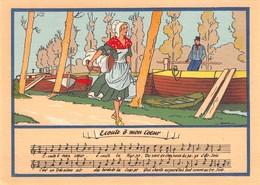 JACK - Lavandière - Canal - Péniches - Artois - Editions Barré & Dayez N'BD 1479 B - Andere Illustrators