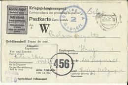 Correspondance Des Prisonniers De Guerre STALAG IV A    1944 - Marcophilie