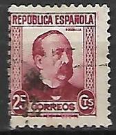 ESPAGNE   -    1931.   Y&T N° 504 Oblitéré. - 1931-50 Afgestempeld