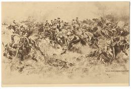 Charge De Uhlans  - Dessin D'Anton Hoffmann  - WWII - Guerre 1914-18