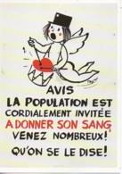 PEYNET Avis  La Population Est Cordialement Invitée A DONNER Son SANG - Peynet