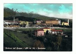 PADERNO  DEL  GRAPPA:  PANORAMA  -  FOTO  COLORATA  A  MANO  -  FG - Treviso