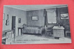 Thuringen Weimar Schiller's Arbeits NV - Germany