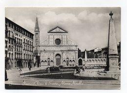 Firenze - Piazza E Chiesa Di Santa Maria Novella - Viaggiata Nel 1953 - (FDC14974) - Firenze
