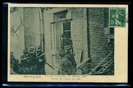 CPA  WERVICQ SUD  FIN DE L INVENTAIRE 20 NOVEMBRE 1906   SORTIE AGENT DU FISC   W31 - France