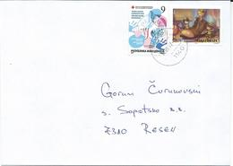 Macedonia 14.09.2017 FD Stamp Charity Red Cross Tuberculosis And Stamp 2012 Grimm Brothers,Folk Tales - Macédoine