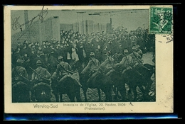 CPA  WERVICQ SUD   INVENTAIRE DE L EGLISE 20 NOVEMBRE 1906  PROTESTATION  W31 - France
