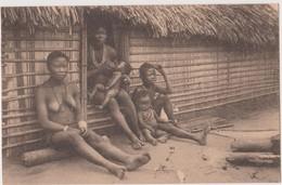 CONGO BELGE  -  SCENES DE VIE DES  BASAKATA  - NELS - - Congo Belga - Otros