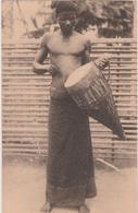 CONGO BELGE  -  TAMBOUR DE GUERRE DES BASAKATA  - NELS - - Belgisch-Congo - Varia