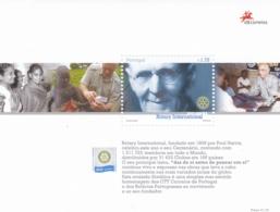 Portugal, 2005, 2913/14 Block 210, 100 Jahre Rotary International. MNH ** - Blocs-feuillets
