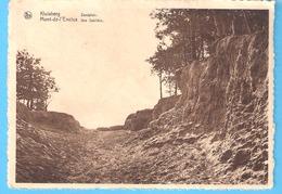 "Mont-de-L'Enclus-Kluisberg-1944-Zandplein-une Sablière-Edit.Hotel ""Klokke Roeland"",Orroir-cachet Amougies-1944 - Kluisbergen"