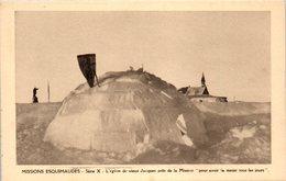 GROENLAND -- Missions Esquimaudes - L'iglou Du Vieux Jacques - Greenland