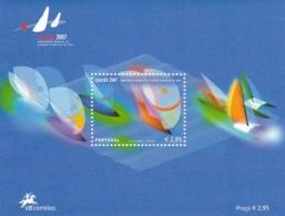 Portugal, 2007, 3178 Block 254, Segel-Weltmeisterschaften, Cascais. MNH ** - Blocs-feuillets