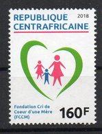 CENTRAFRIQUE - 2018 - FONDATION CRI DE COEUR D'UNE MERE - FOUNDATION FOR MOTHERS - COEUR - HEART - - República Centroafricana