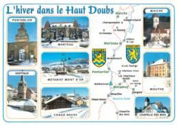 25 - L'HIVER DANS LE HAUT DOUBS  DOUBS - PONTARLIER - MORTEAU MAICHE- MOUTHE - Unclassified