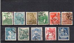 JAPON 1948-9 O - 1926-89 Empereur Hirohito (Ere Showa)