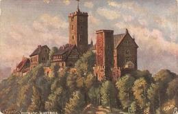 """Esenach. The Wartburg"" Tuck Oilette Wide-wide-world Series PC # 7082 - Quinton, AR"