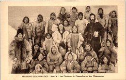 GROENLAND -- Missions Esquimaudes - Les Chrétiens De Chesterfield - Greenland