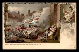 JERSEY - SAINT-HELIER - TABLEAU - DEATH OF MAJOR PIERSON JAN 1781 - Jersey