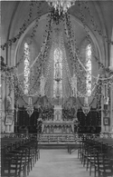 """BOULOGNE  -  Carte-Photo De L'Intérieur De L'Eglise  -  Photographe """" BERTRAND """" De LA ROCHE-sur-YON  - Voir Le Dos - France"""