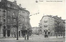 CPA /PK /  AK  -  FOREST  Avenue Albert Et Rue Berkendael - Forest - Vorst