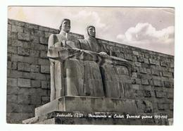 PEDEROBBA (TV):  MONUMENTO  AI  CADUTI  FRANCESI  GUERRA  1915/18  -  TRACCIA  D' ACQUA  RETRO  -  FOTO  -  FG - Monumenti Ai Caduti