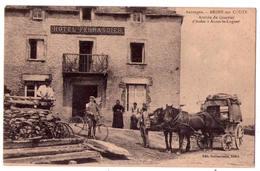 4111 - Ardes Sur Couze ( 63 ) Arrivée Du Courrier D'Ardes à Anzat Le Luguet ; édit. Guillaumont à Ardes - - Autres Communes