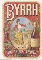 CPM - PUB - L'ANDALOUSE DE BYRRH - 1900 - Edition Bibliothèque Forney - Werbepostkarten