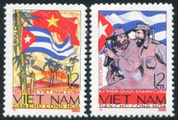 Vietnam Du Nord 1965  YT 403-404 ; Mi# 345-346 MNG (*) - Viêt-Nam