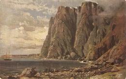 """T.von Eckenbrecker. The Nord Cape Bay. Norway Tuck Oilette Wide-wide-world Series PC # 7079 - Quinton, AR"