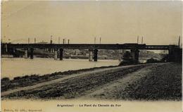 ~  JP  ~  95  ~  ARGENTEUIL  ~    Le  Pont  Du Chemin De Fer   ~ - Argenteuil