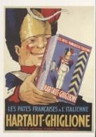 CPM - AFFICHE Anonyme - LE GROGNARD HARTAUT GHIGLIONE (pâtes Alimentaires) - Edition Bibliothèque Forney - Publicité