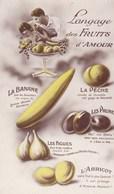 Langage Des Fruits D'Amour - Cartes Postales