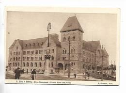 57 -  METZ - Neue Hauptpost - Nouvel Hôtel Des Postes. Cachets Jean Moulin Au Verso - Metz