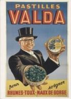 CPM - PUB Pastilles VALDA - Affiche Anonyme - Edition Bibliothèque Forney - Advertising