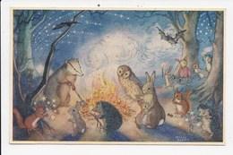 CPM ILLUSTRATEUR MOLLY BRETT Bonfire Night - Andere Illustrators
