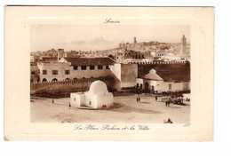 Tunisie Sousse La Place Pichon Et La Ville - Tunisia